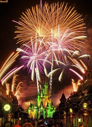 Disney Fireworks - Happy Memorial Day Weekend | by Tom.Bricker