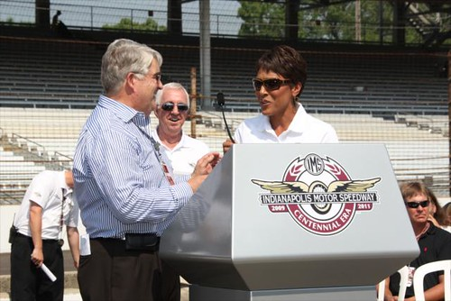 Robin Roberts | by indianapolismotorspeedway.com