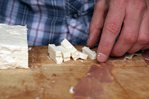 feta pieces | by David Lebovitz
