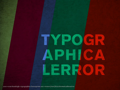 Typographical Error | by futuraprime