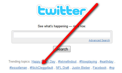 Twitter & #nickcleggsfault | by search-engine-land