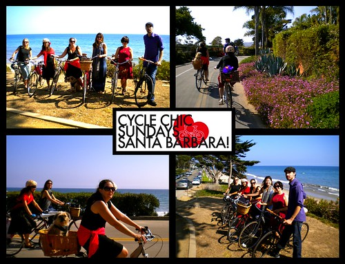 Cycle Chic Sundays Santa Barbara! August 2010 | by Christa . Bike by the Sea