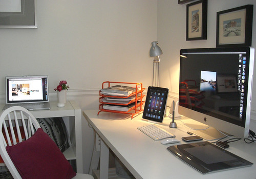 My home office, a little mac world | by jus4ur