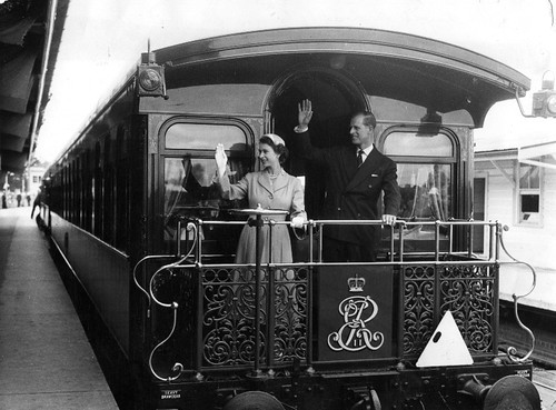 Queen Elizabeth II and Prince Philip on tour | by ABC Archives
