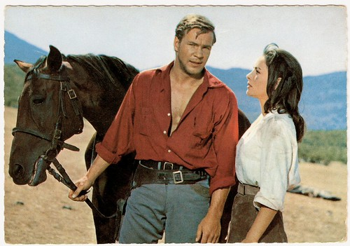 Götz George and Karin Dor in Der Schatz im Silbersee (1962)