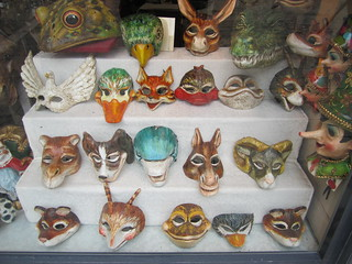 Masks | by veganbackpacker
