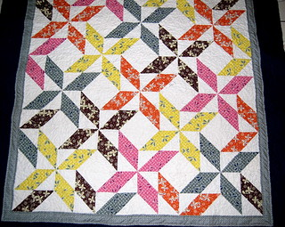 Pinwheel Quilt | by Crazy Knitter