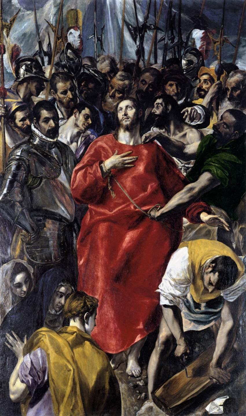 el espolio - 1577 1579 - El Greco