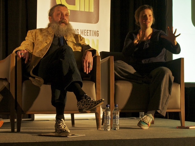 TAM London 2010: Alan Moore and Josie Long
