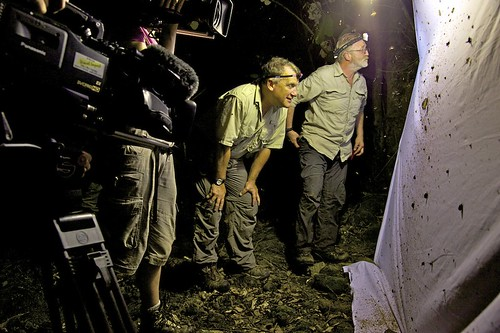 Dr. Rabinowitz & the BBC expedition team examine moths in Bhutan | by Panthera Cats