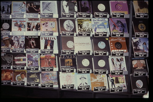 hmv display signs and logos from the 1980s | by hmv_getcloser