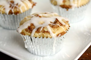 Amaretto Apple Streusel Cupcakes | by Tracey's Culinary Adventures