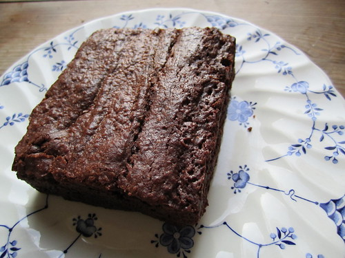 Cupcake Berlin Vegan Chocolate Peanut Butter Brownie | by veganbackpacker