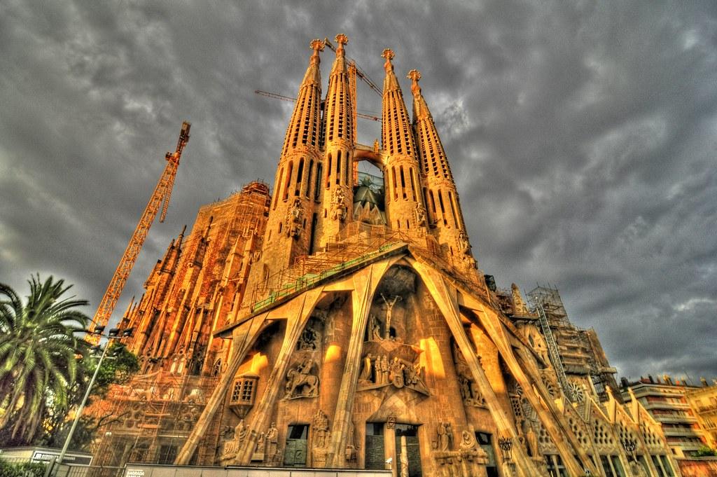 La Sagrada Familia Barcelona/Spain