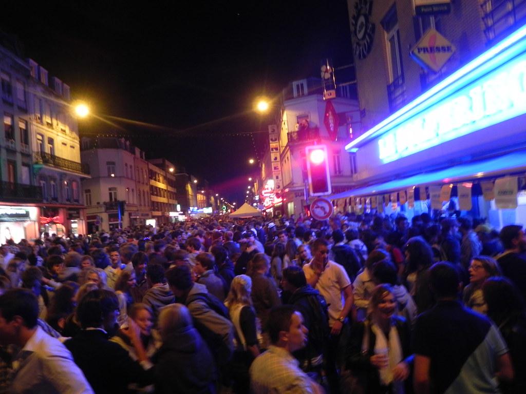 Rue Solférino @Braderie Lille