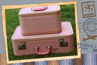 Pink Vintage Luggage!! ♥ ♥ ♥ | by voo_doolady