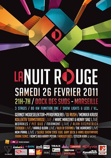 La Nuit Rouge - Flyer | by oliverchesler