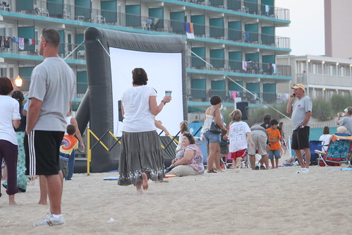 Movie on the Beach | by ocmdhotels