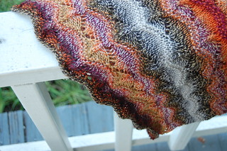 hanging on the porch | by knitting school dropout