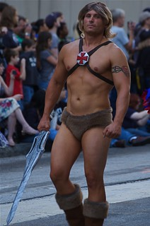 He-man in the 2010 Dragon*con Parade | by vladeb
