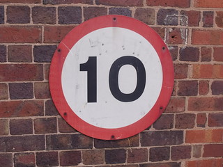 Gun Barrel Proof House, Banbury Street, Digbeth - 10 mph sign | by ell brown