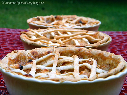 Three Farm Fresh Mini Apple Pies for Three Little Bears | by CinnamonKitchn
