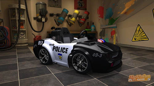 ModNation Racers: Police District | by PlayStation.Blog