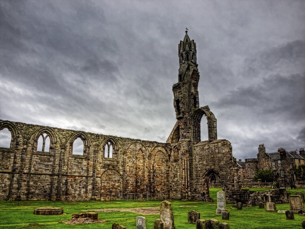 The Cathedral Ruin - St. Andrews, Scotland