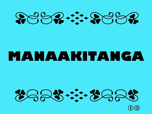 Buzzword Bingo: Manaakitanga = respect for hosts and kindness to guests #Maori