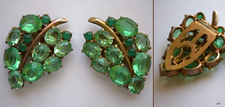 Vintage Green grape earrings | by Blue Eyes and Bluebonnets