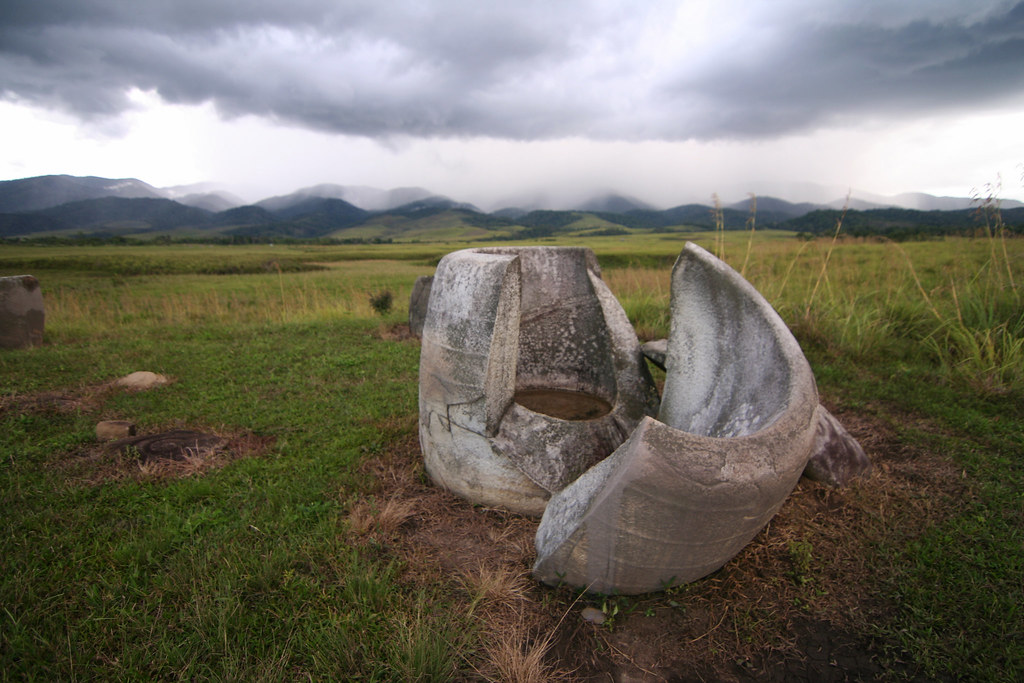 Megalith in the Napu Valley