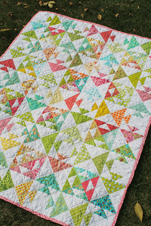 Kissy Fish Baby Quilt | by freshlypieced