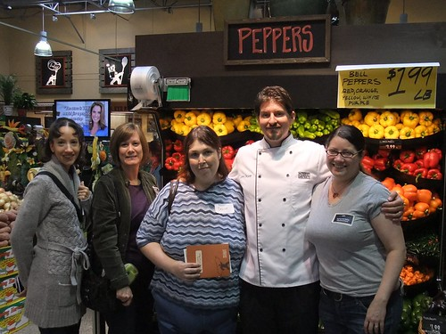 Food Bloggers with Chef John Gruver of Giant Eagle Market District | by swampkitty