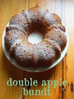 double apple bundt cake | by awhiskandaspoon
