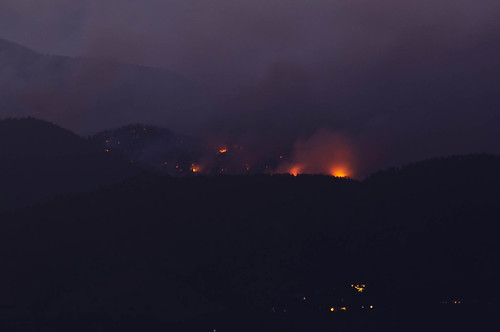 Boulder Fire at Night | by Chris Setter