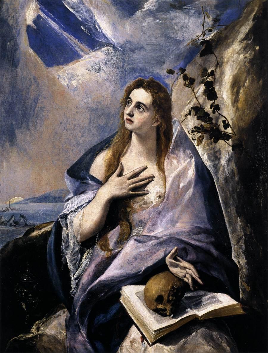 maria madalena em penitencia - El Greco
