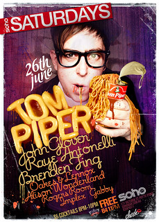 SOHO saturdays TOM PIPER | by Dale Watkins