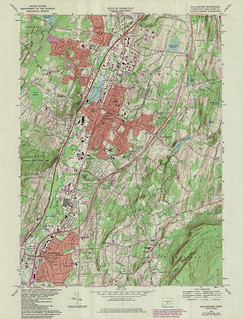 Wallingford Quadrangle 1984 - USGS Topographic Map 1:24,000 | by uconnlibrariesmagic