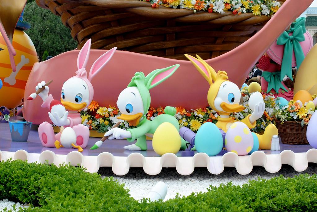 Tokyo DisneyLand Easter (Huey, Dewey and Louie)