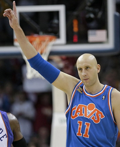 Zydrunas Ilgauskas All Time Leader in Games Played in a Cavs Uniform | by Cavs History