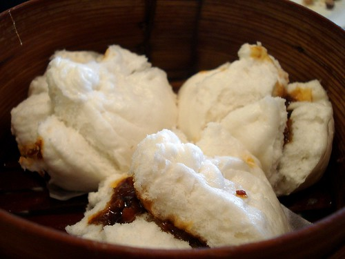 Char siu bao (蠔皇叉燒飽) at Peninsula, Holiday Inn Express, North Greenwich, London SE10 | by Kake .