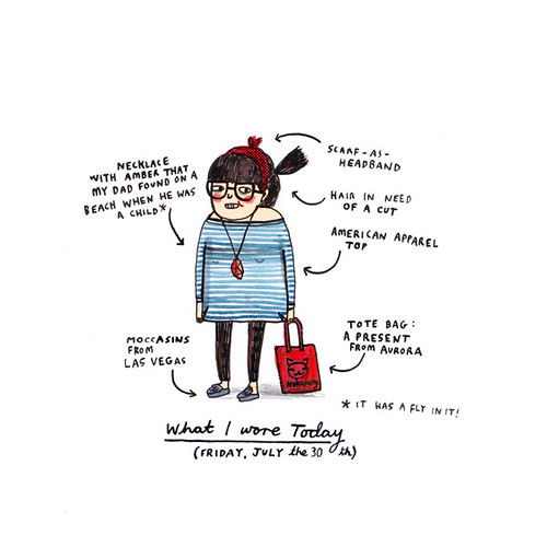what i wore today: july 30 | by gemma correll