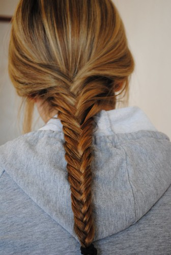 fishtail braid | by celinahansson