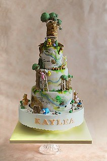 100 acre wood cake | by CforCupcake