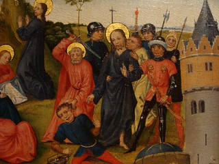 ca. 1470-1490 - 'Scenes from the Passion of Christ', Brabant, M - Museum Leuven, province of Flemish Brabant, Belgium | by roelipilami