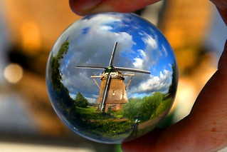 A Dutch windmill, Amsterdam – The Netherlands. Crystal ball | by kees straver (will be back online soon friends)