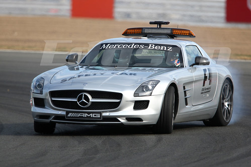 jenson button mercedes benz sls amg f1 safety car formula. Black Bedroom Furniture Sets. Home Design Ideas