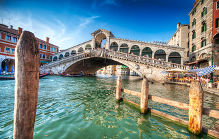 Below the Rialto - (HDR Venice, Italy) | by blame_the_monkey