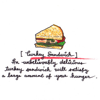 [Turkey Sandwich] | by .tiff