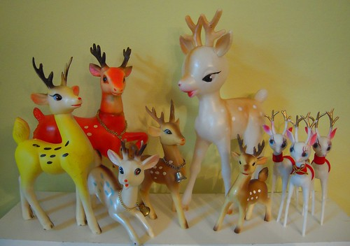 vintage reindeer friends | by artgoodieshome